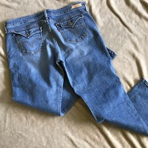 Levi's 545 Low Boot Cut Jeans Jeans